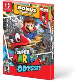 Super Mario Odyssey Starter Pack with Guide - SWITCH NEW