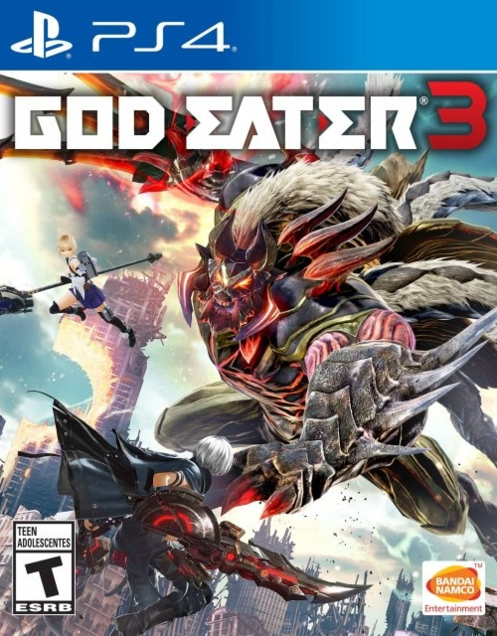 God Eater 3 - PS4 NEW