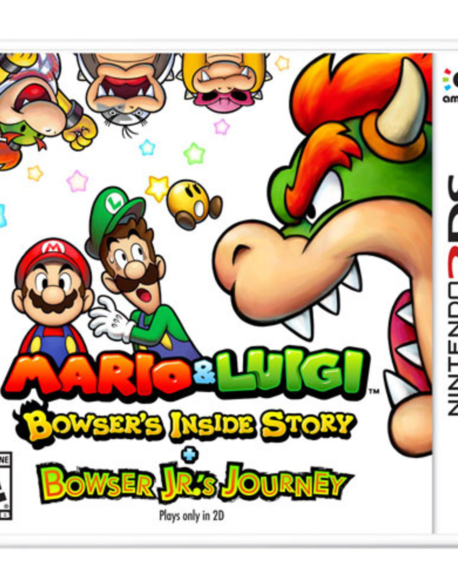 Mario & Luigi: Bowser's Inside Story + Bowser Jr Journey - 3DS NEW