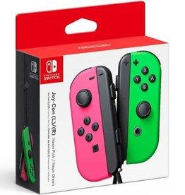 Nintendo Nintendo Switch Joy Con L + R Controller Neon Pink + Neon Green
