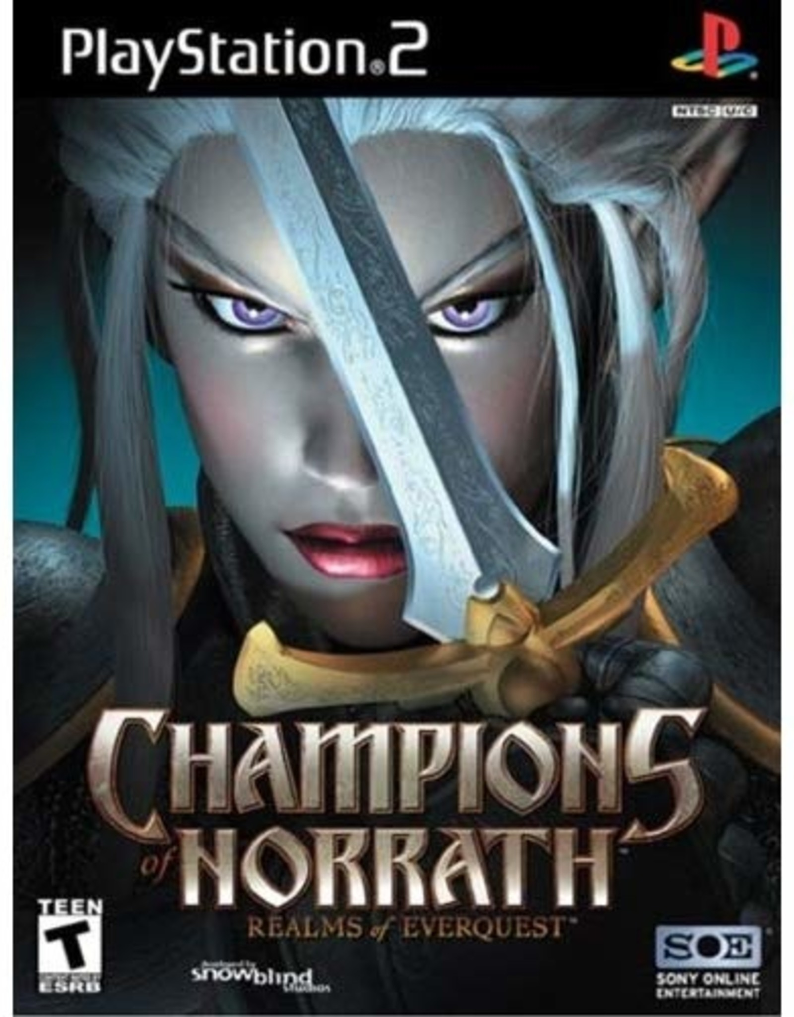 Champions of Norrath - PS2 PrePlayed