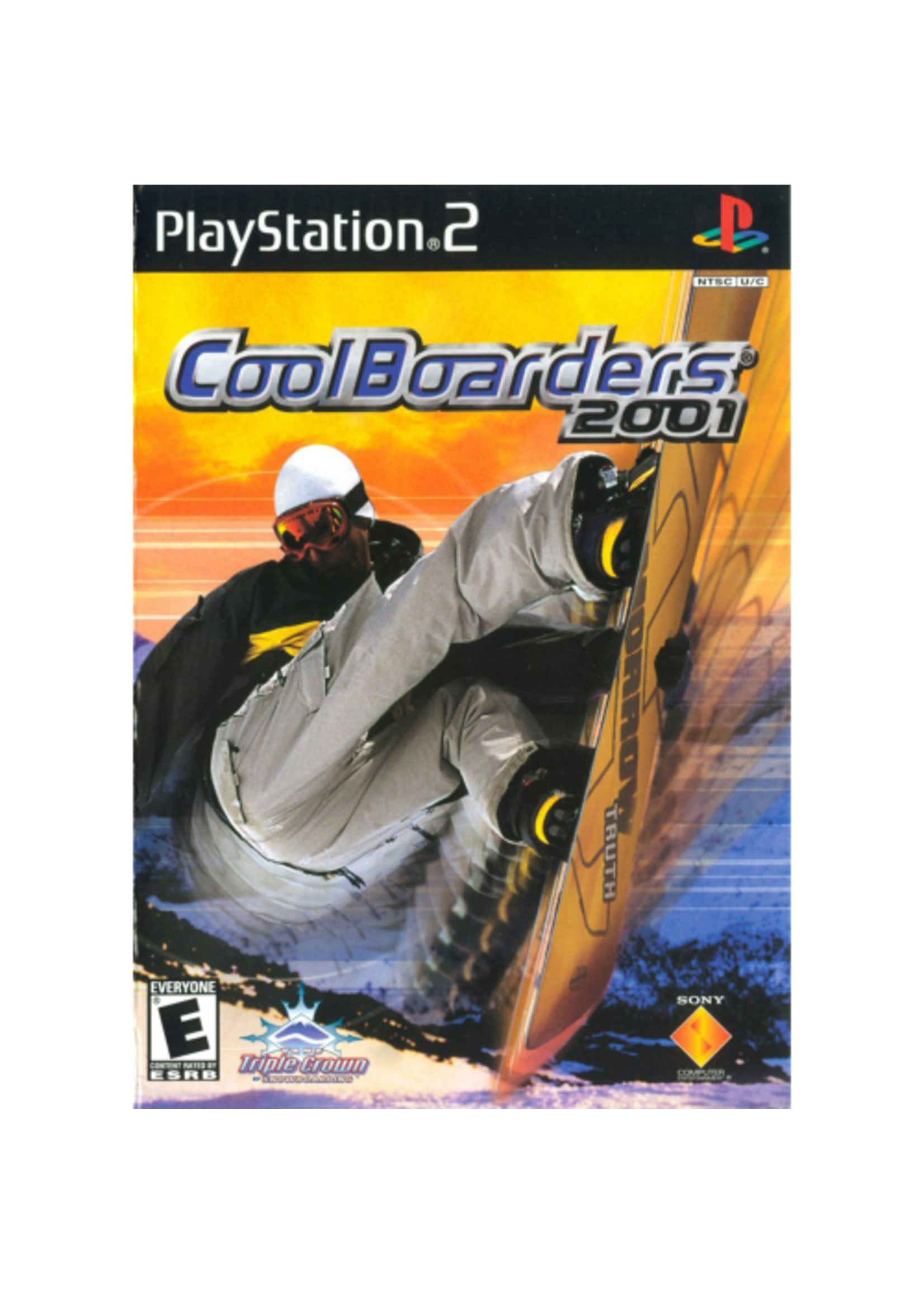 Cool Boarders 2001 - PS2 PrePlayed