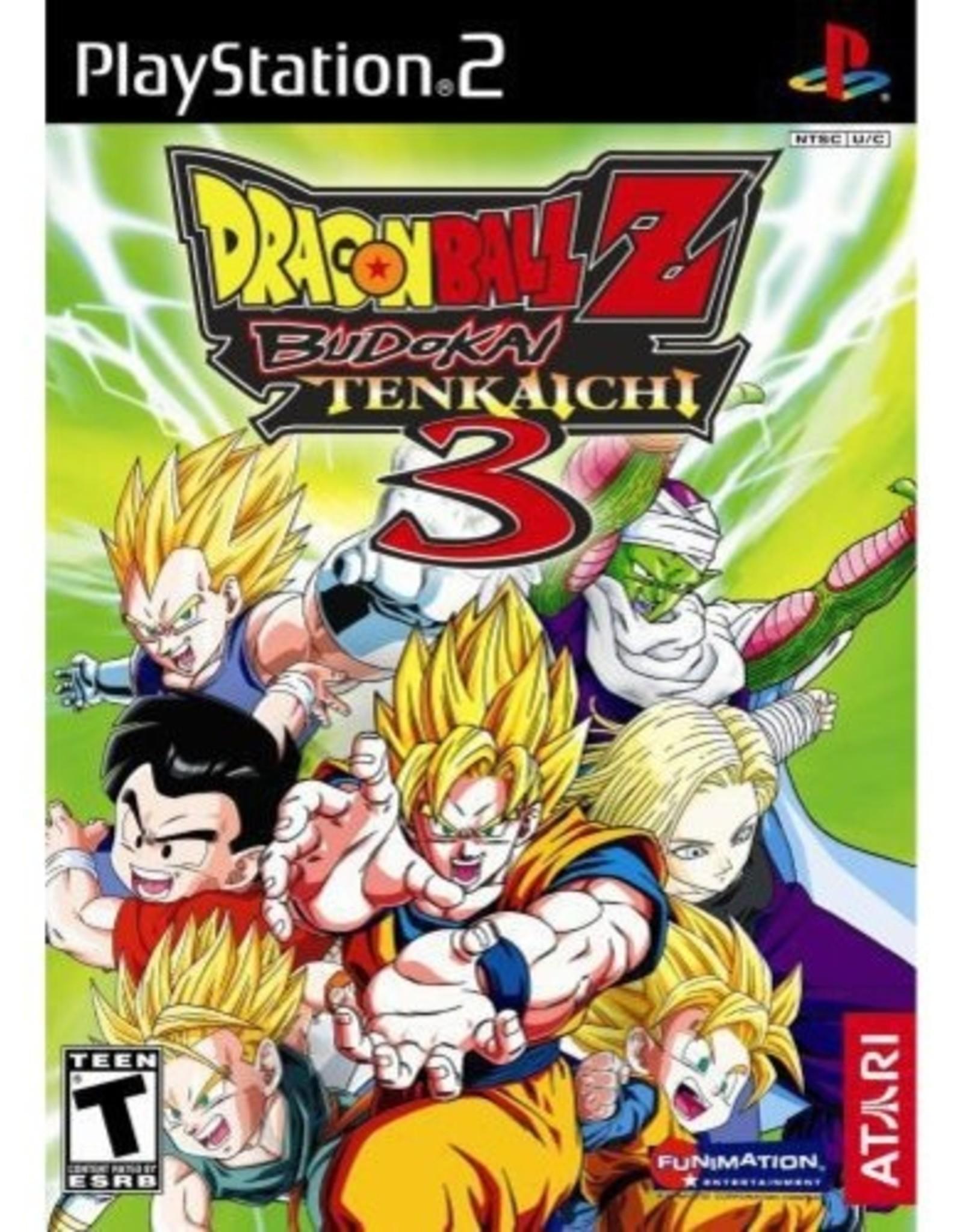 Dragon Ball Z: Budokai Tenkaichi 3 - PS2 PrePlayed