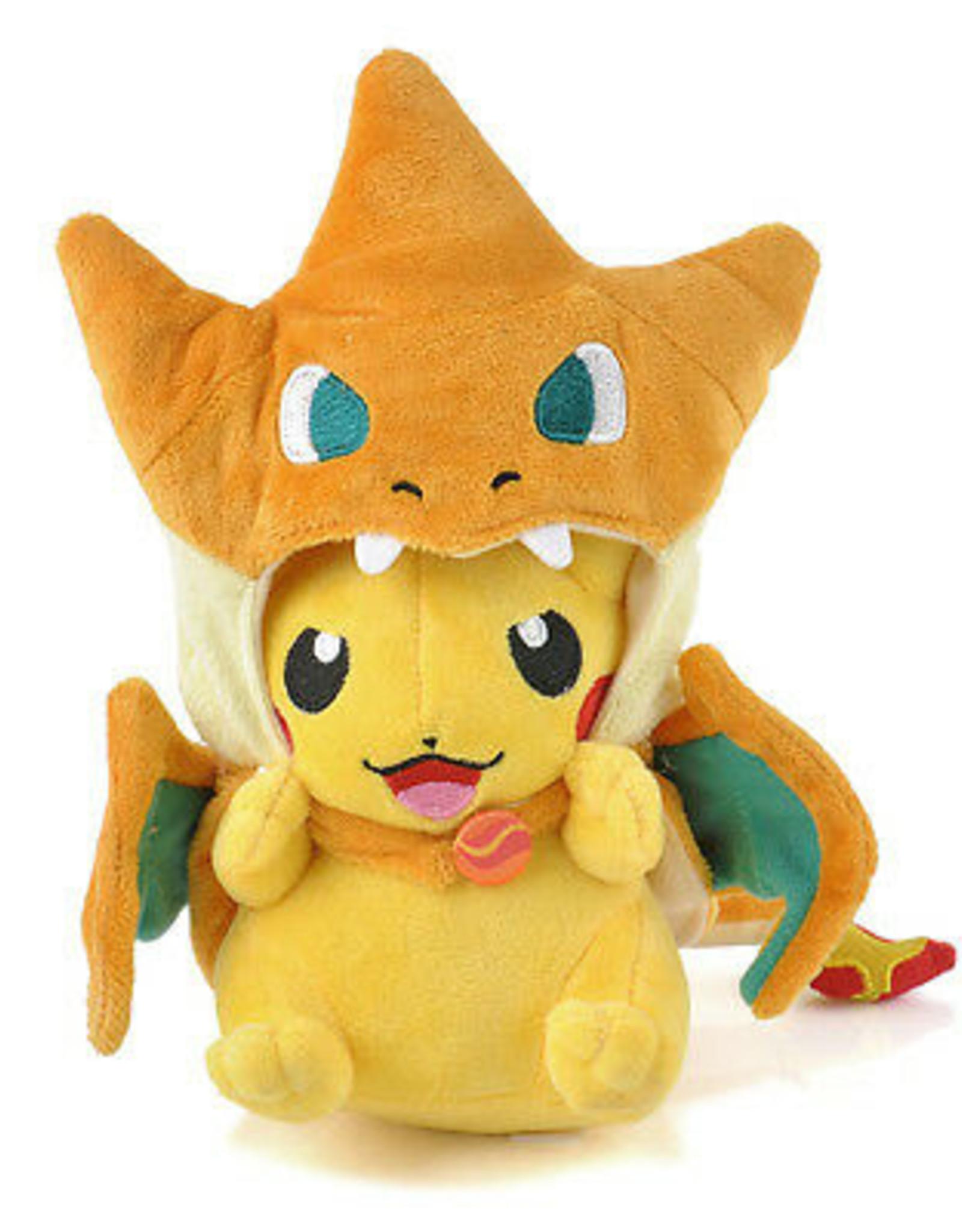 9'' Pokemon Pikachu Charizard Plush Toy