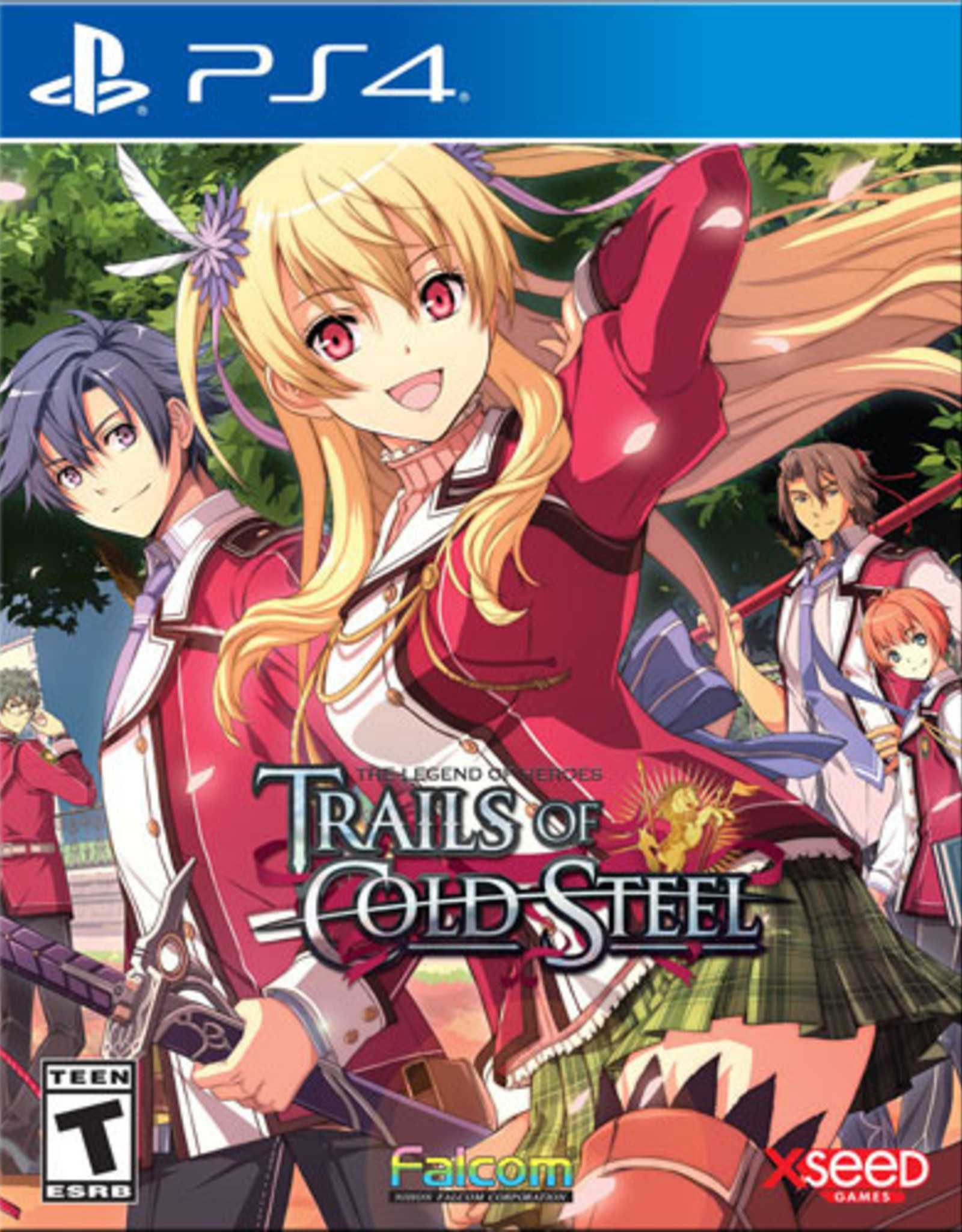 Legend of Heroes: Trials of Cold Steel - PS4 NEW