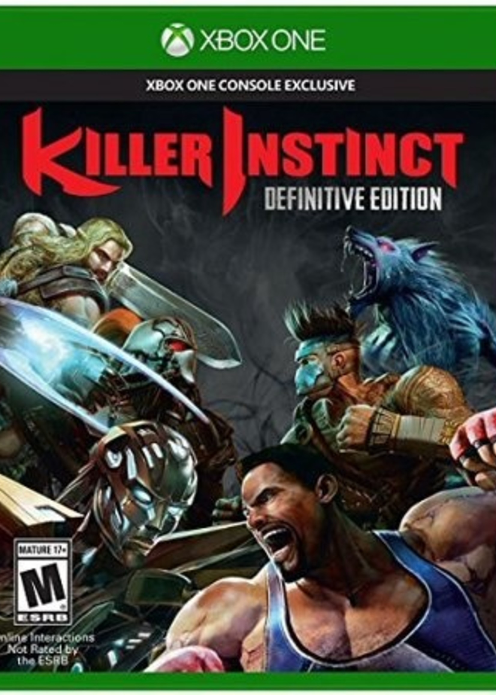 Killer Instinct Definitive Edition - XBOne NEW