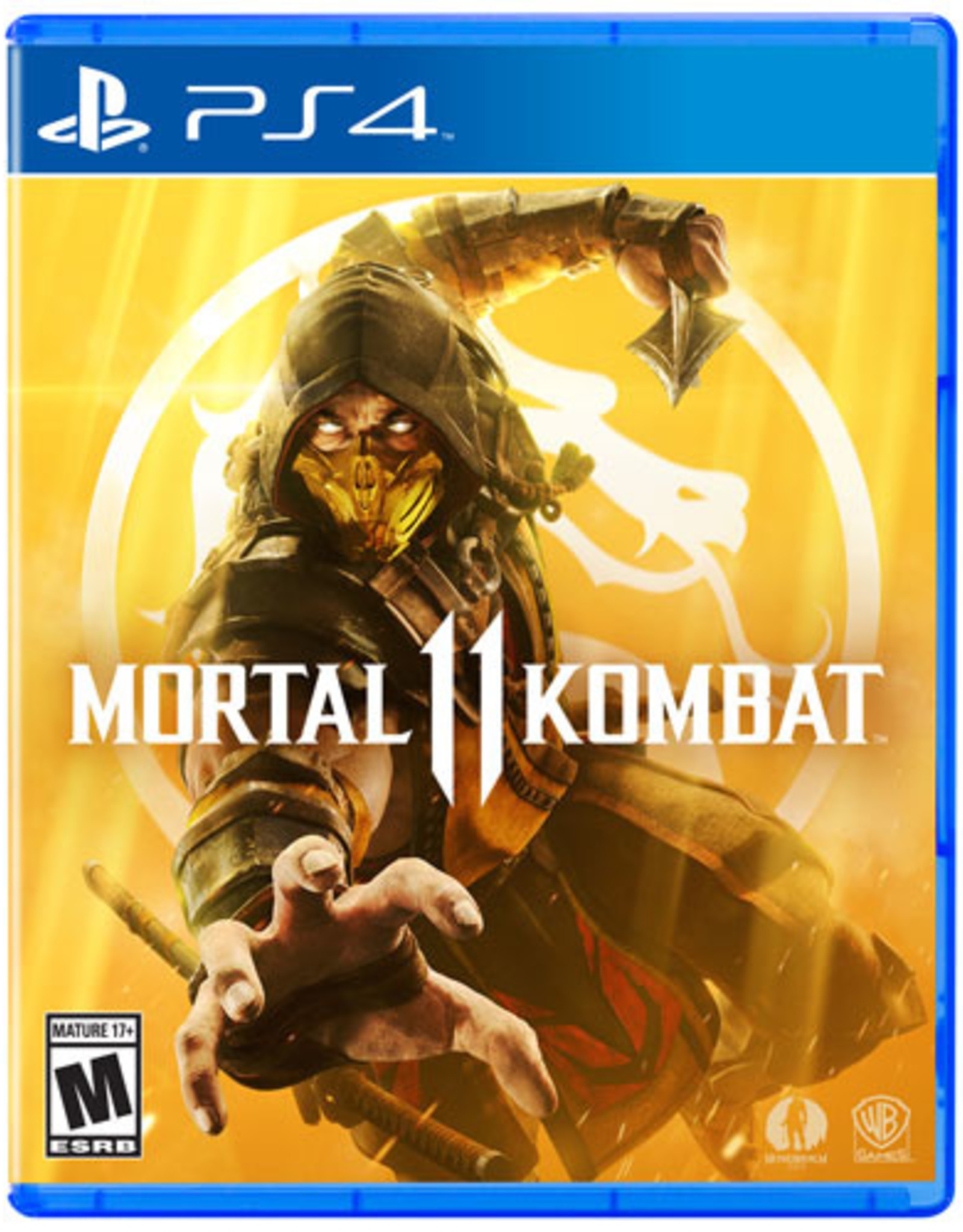 Mortal Kombat 11 - PS4 NEW