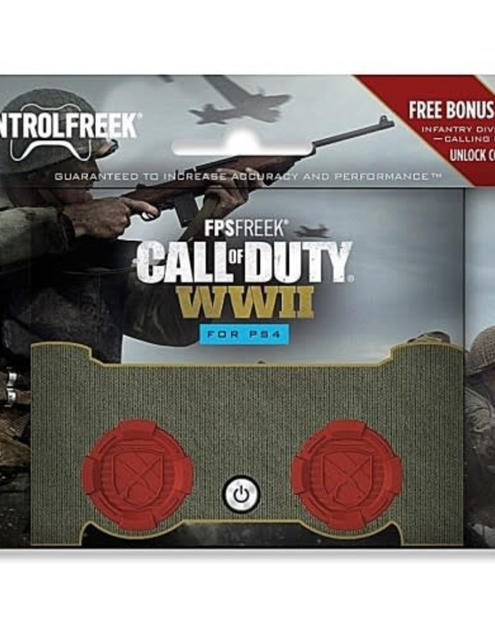 KontrolFreek PS4 FPS Call of Duty MW A D S 2 High Rise Thumb Grip Analog Cover