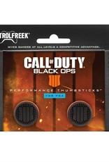 KontrolFreek PS4 FPS COD Black Ops 4 Performance 2 High Rise Thumb Grip Analog Cover