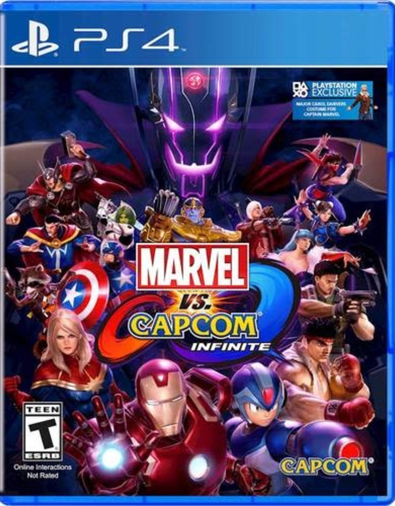 Marvel vs Capcom Infinite - PS4 PrePlayed