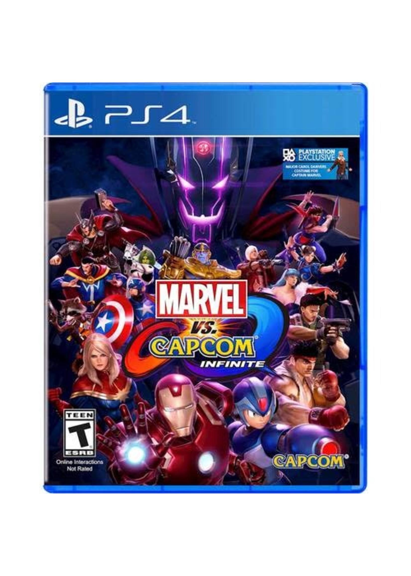 Marvel vs Capcom Infinite - PS4 PrePlayed