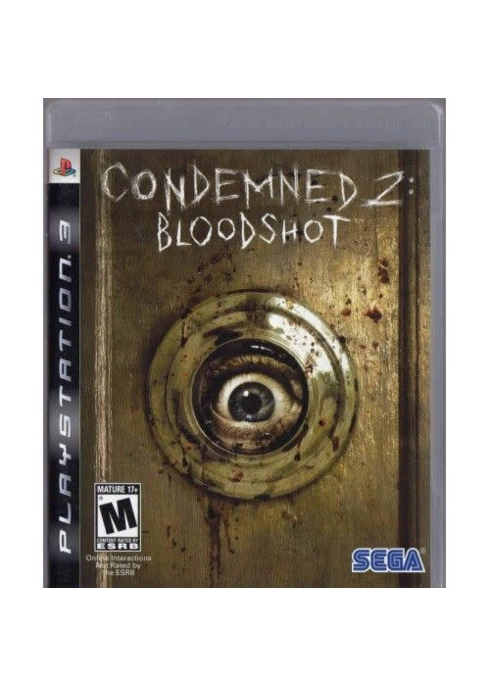 Condemned 2 Bloodshot - PS3 PrePlayed