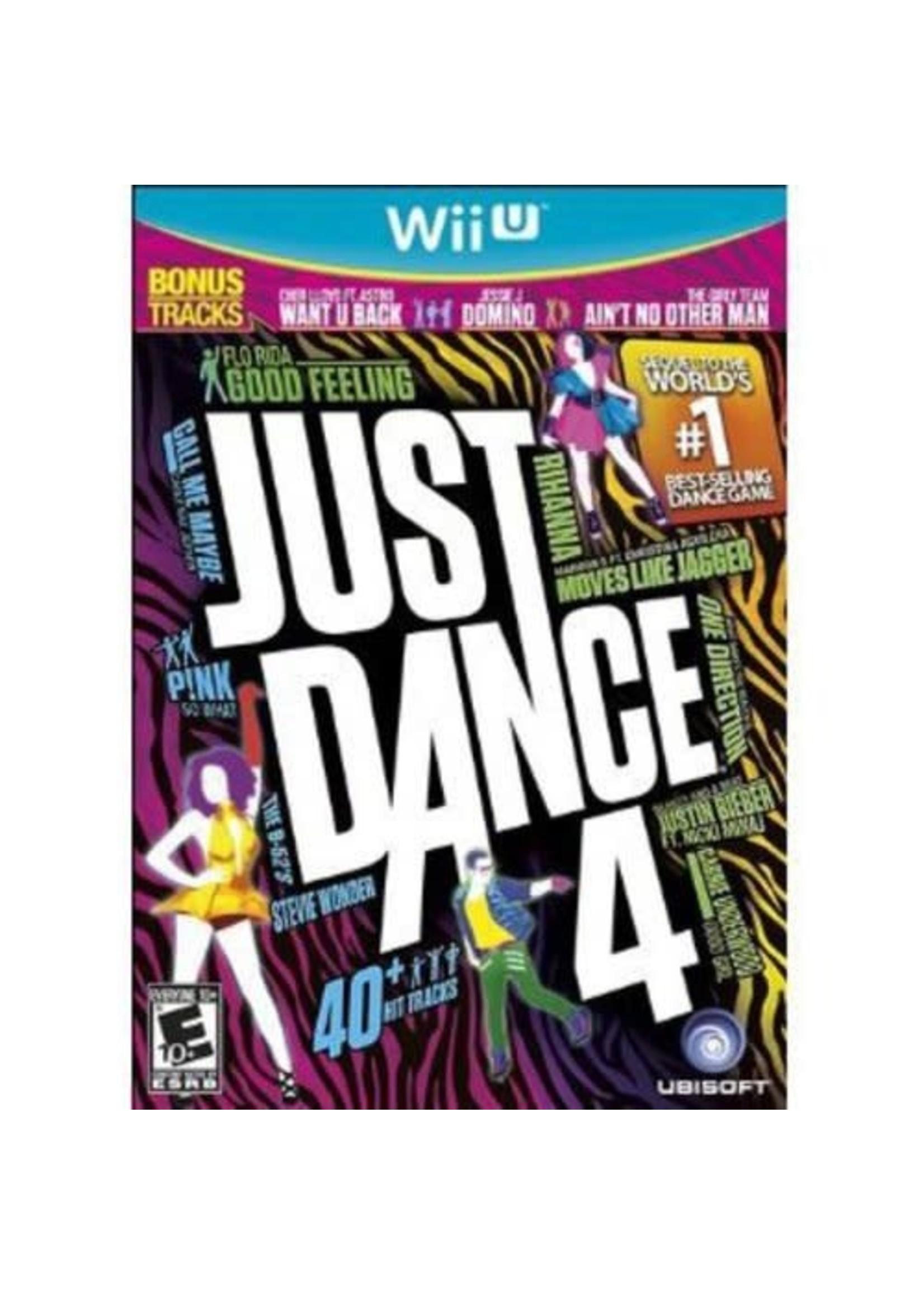 Just Dance 4 - WiiU PrePlayed