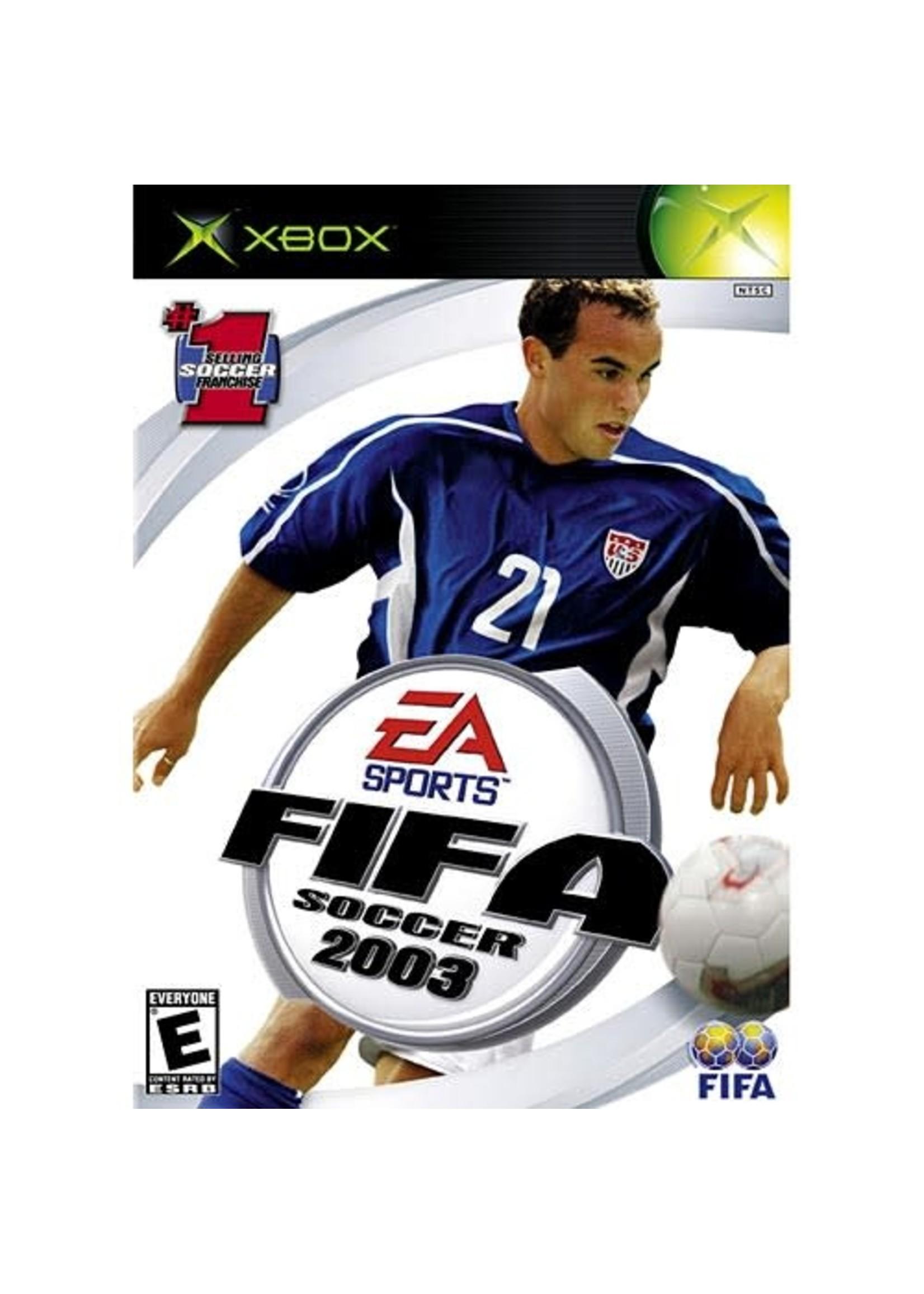 FIFA 2003 - XBOX PrePlayed