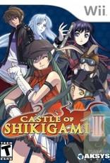 Castle Of Shikigami 3 - Wii PrePlayed