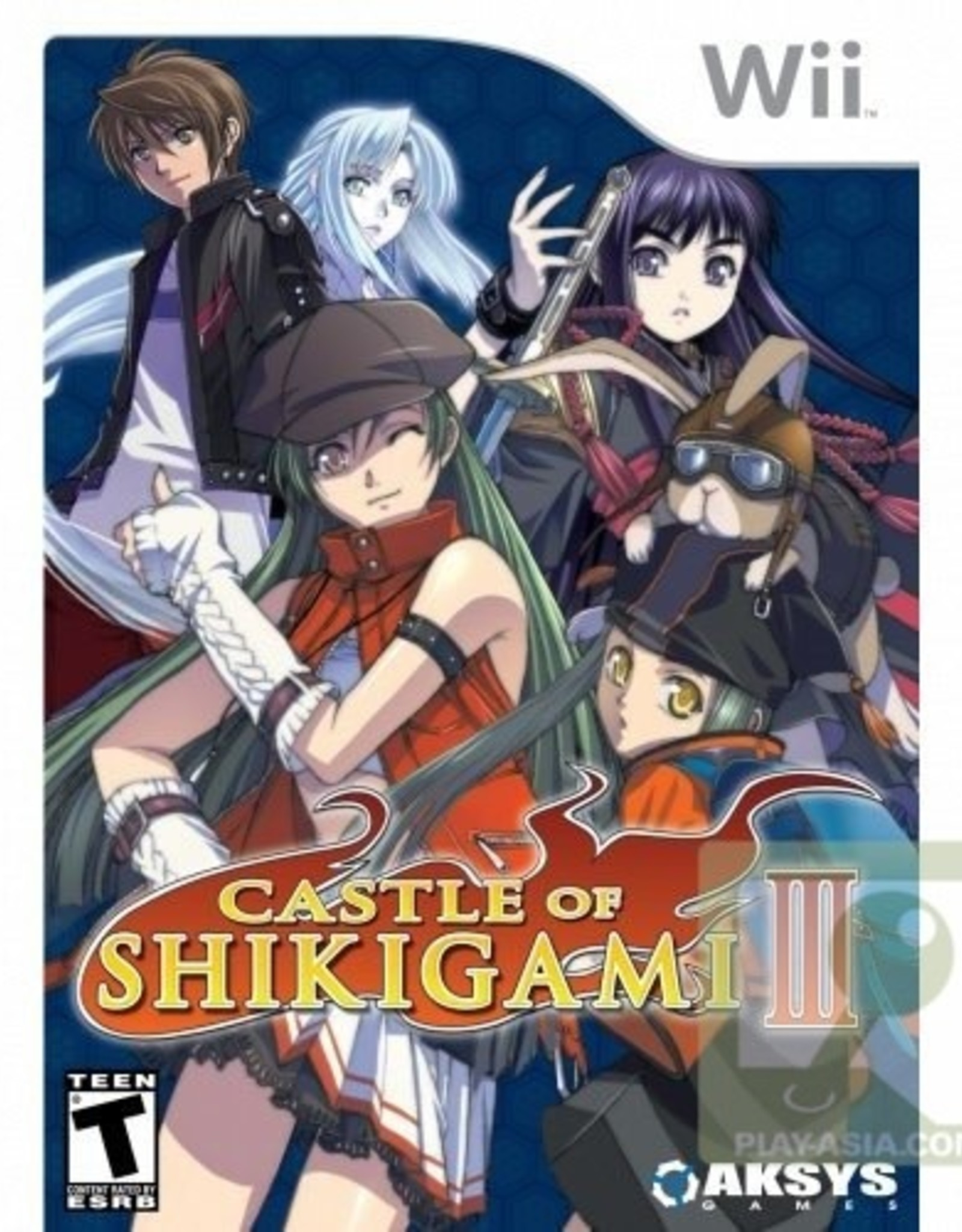Castle Of Shikigami 3 - Wii PrePlayed