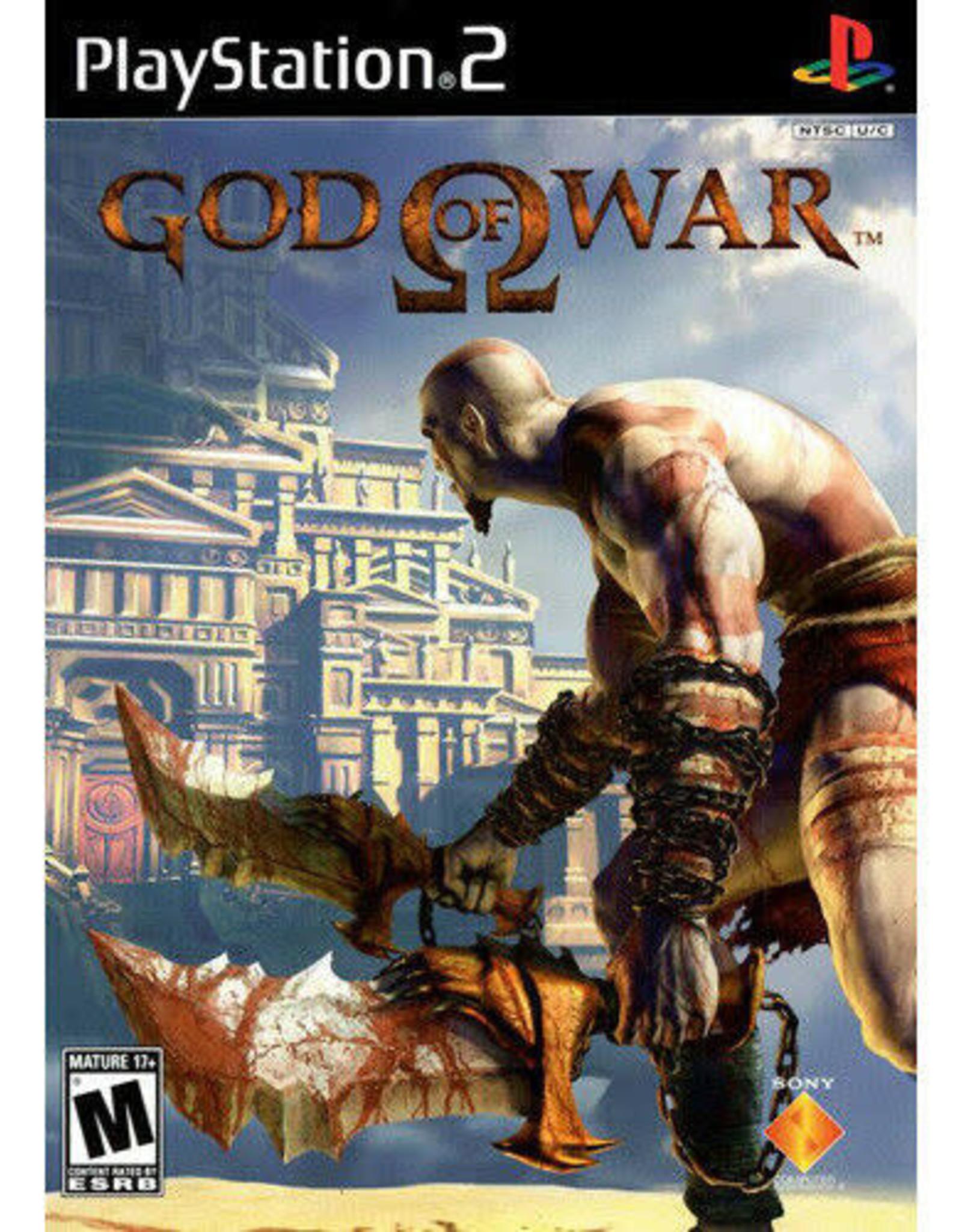 God of War- PS2 Preplayed