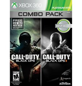 Call of Duty: Black Ops 1 + 2 Combo Pack - XB360 PrePlayed
