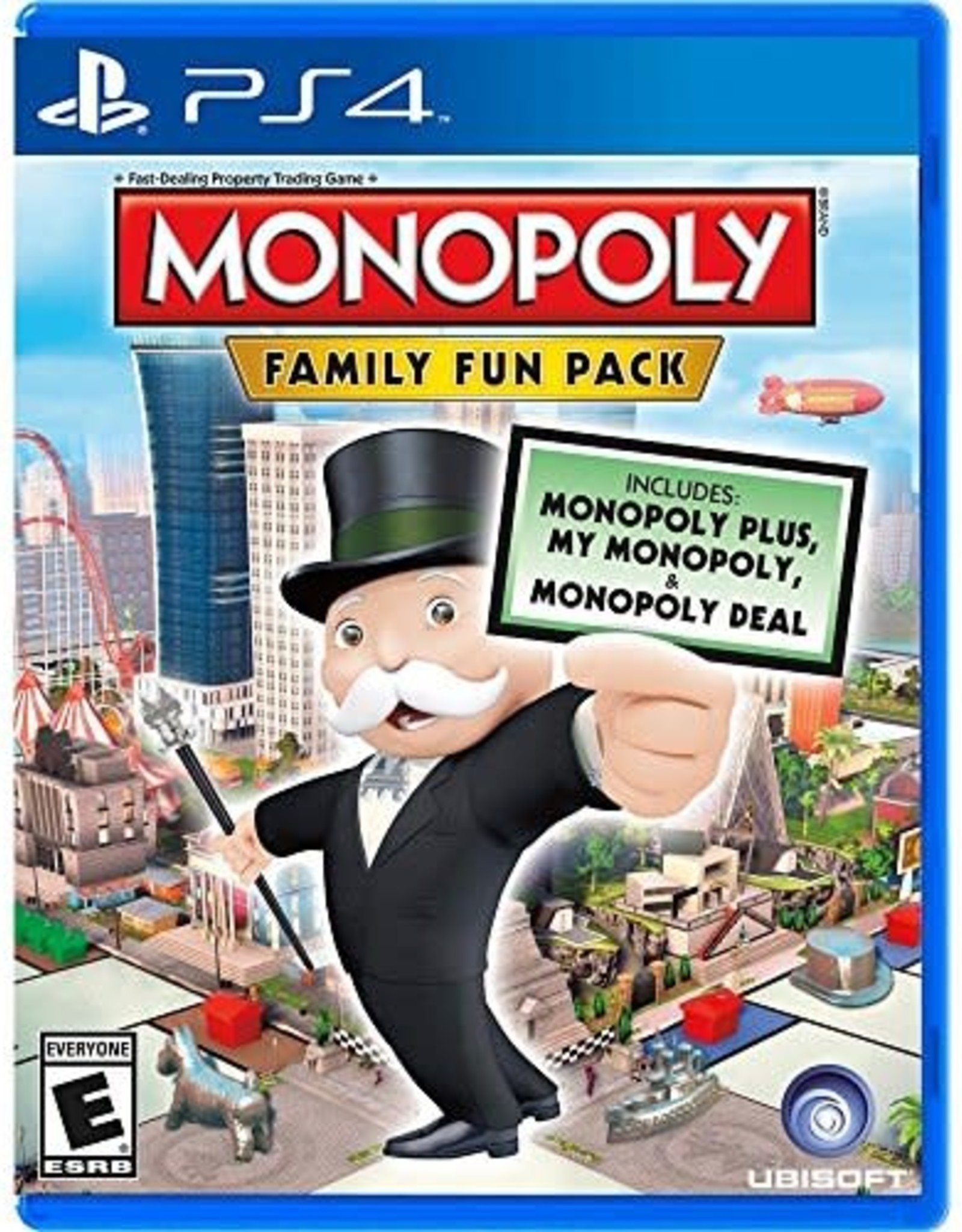Hasbro Family Fun Pack - PS4 PrePlayed