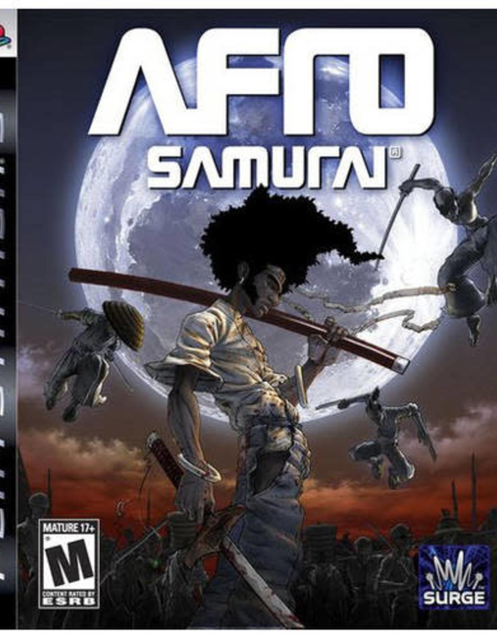 Afro Samurai - PS3 PrePlayed
