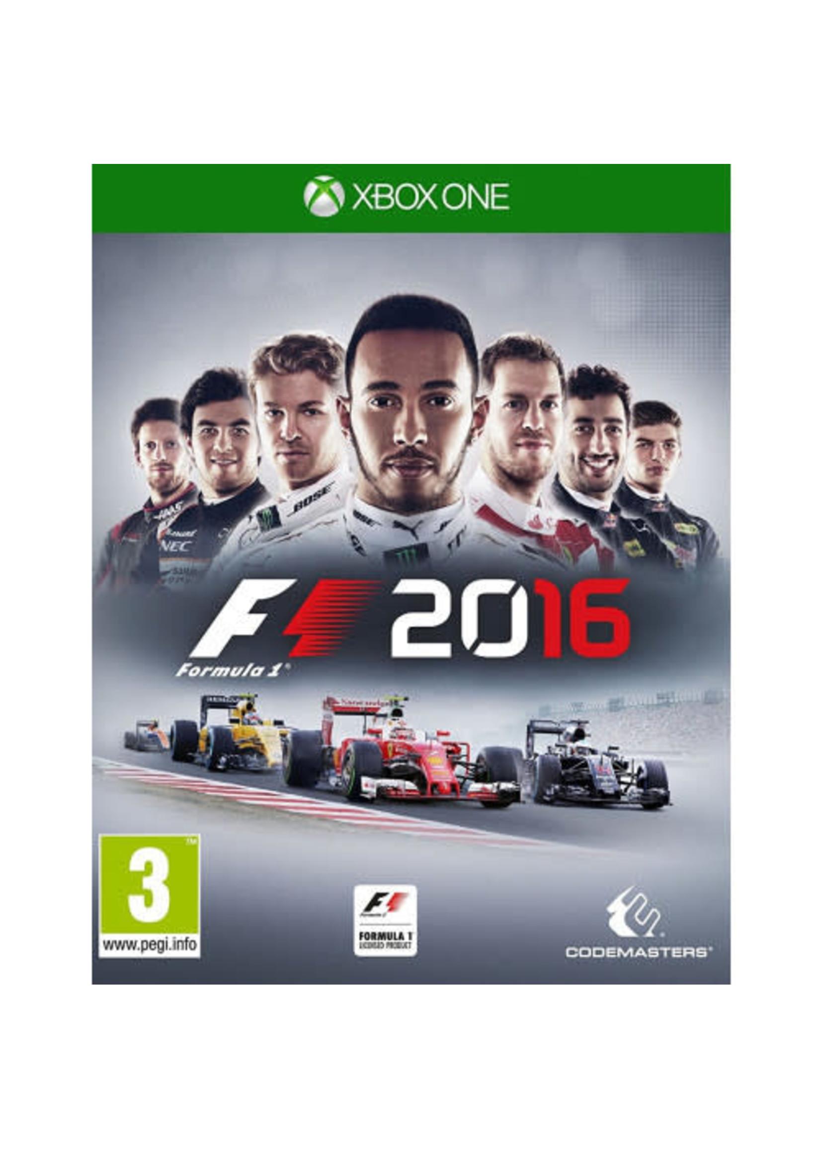 F1 2016 - XBOne PrePlayed