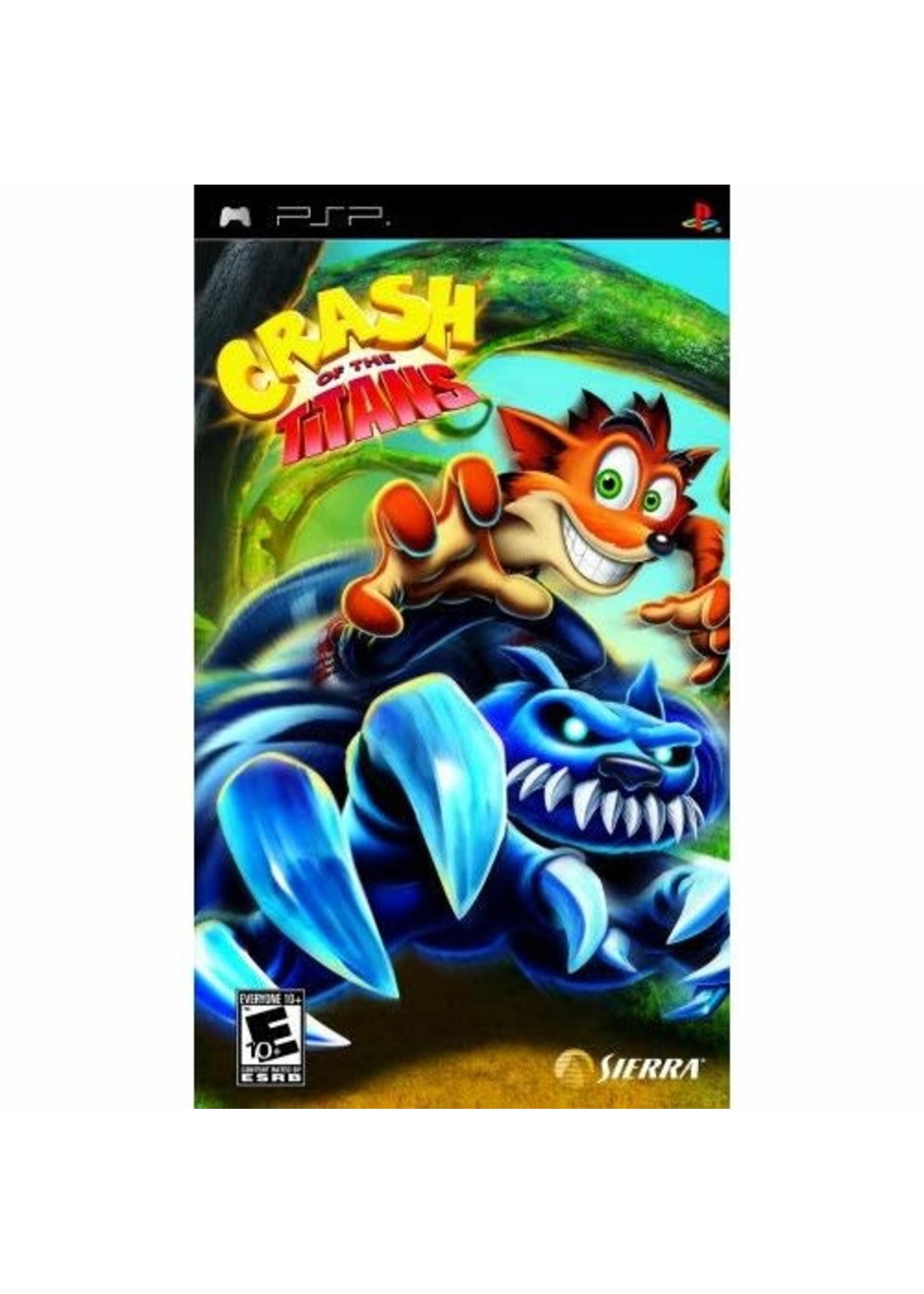 Crash of the Titans - PSP PrePlayed