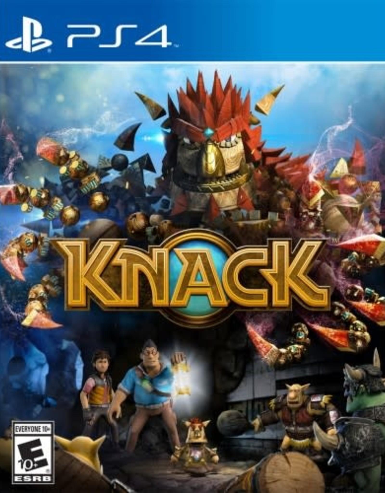 Knack - PS4 PrePlayed