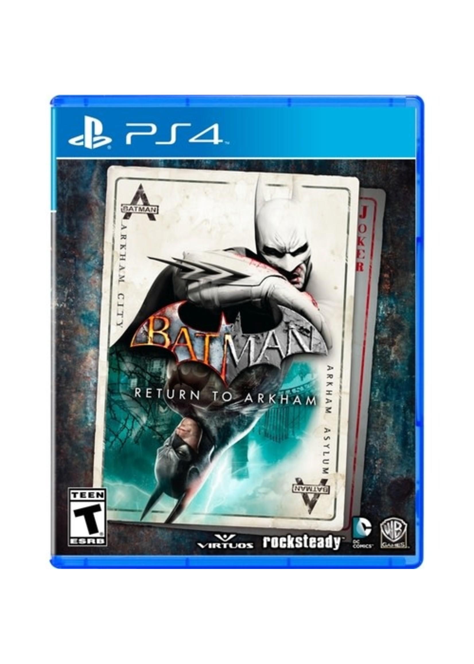 Batman: Return To Arkham - PS4 PrePlayed