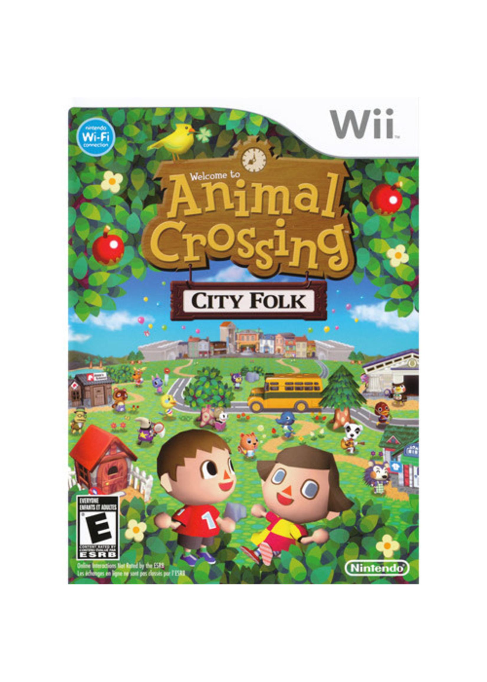 Animal Crossing City Folk - Wii Preplayed