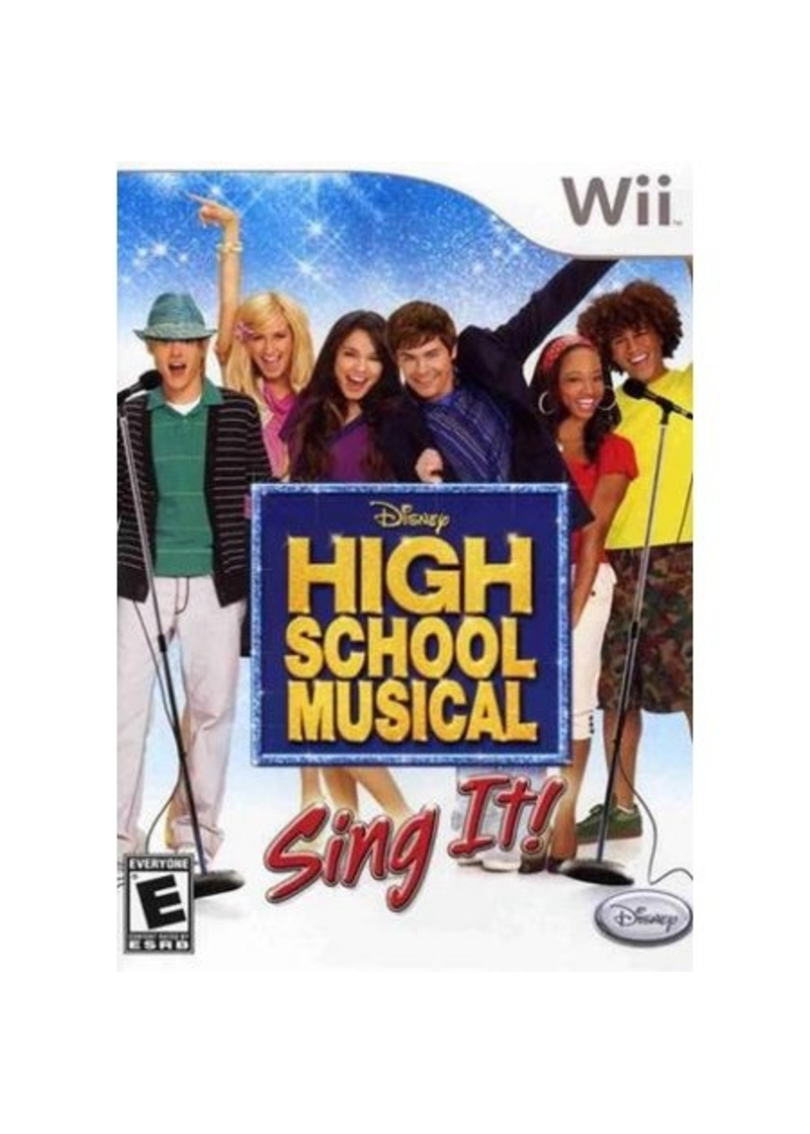 High School Musical Sing It - Wii PrePlayed