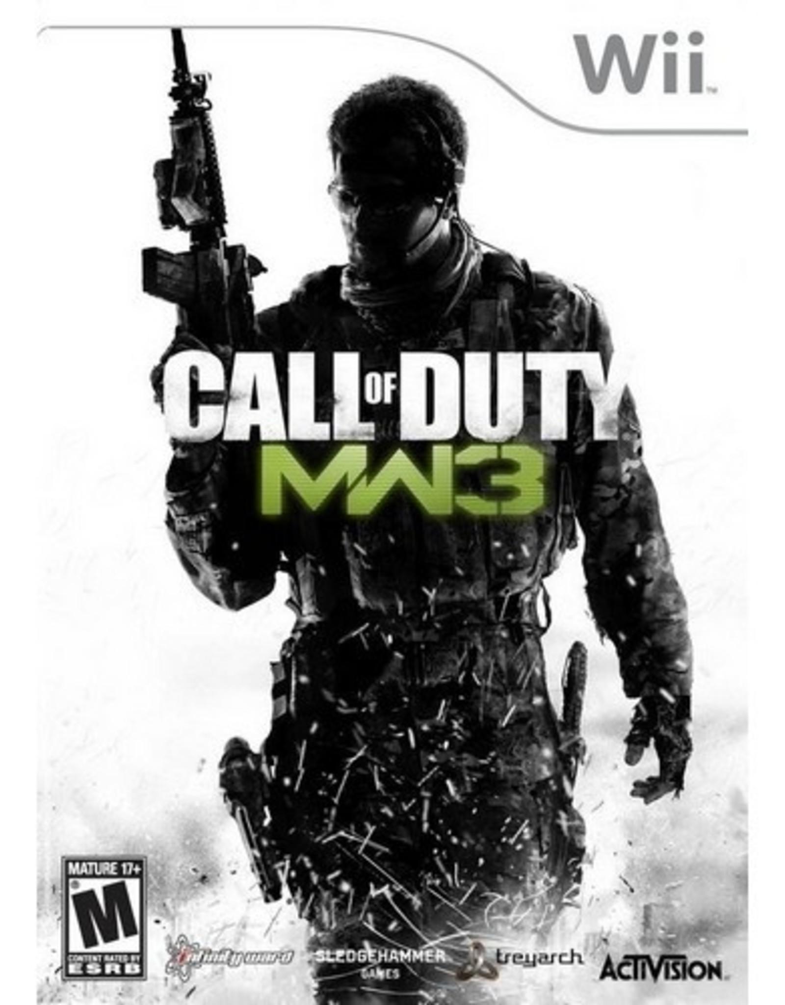 Call of Duty: Modern Warfare 3 - Wii PrePlayed