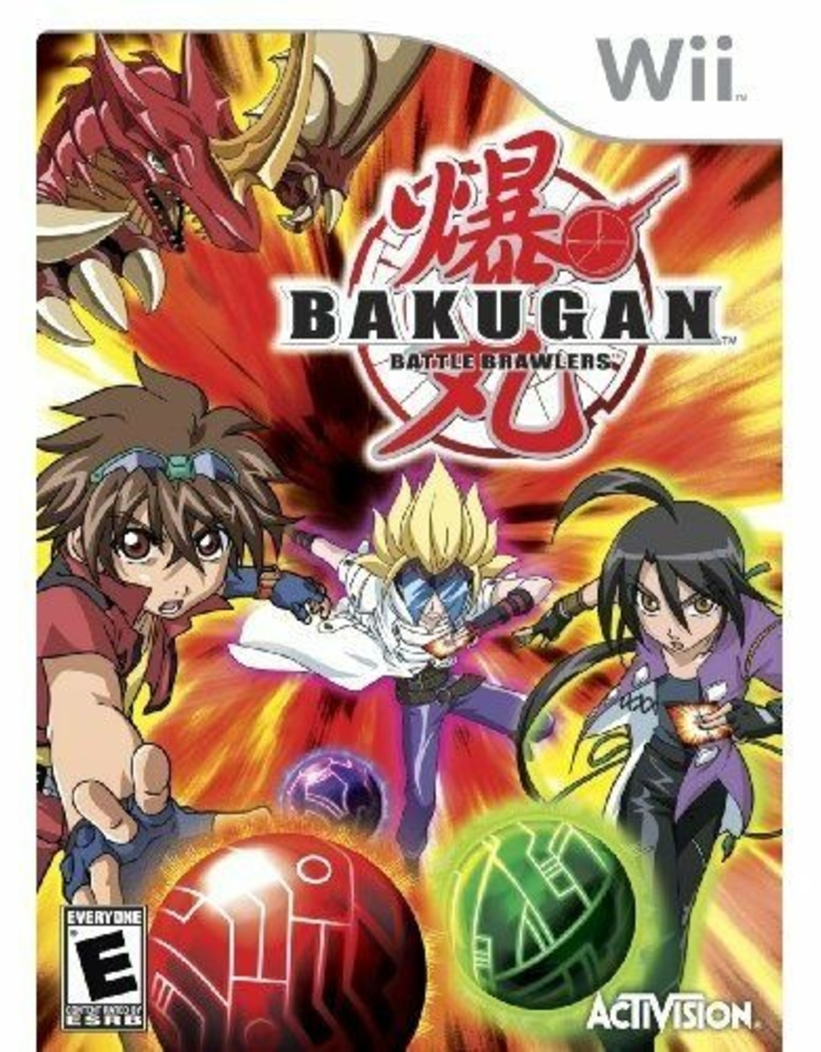Bakugan: Battle Brawlers - Wii PrePlayed