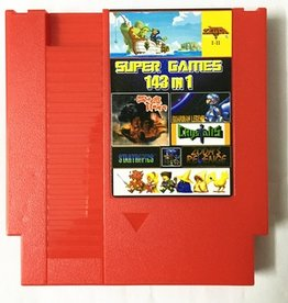 Super Games Multicart 143 in 1 NES