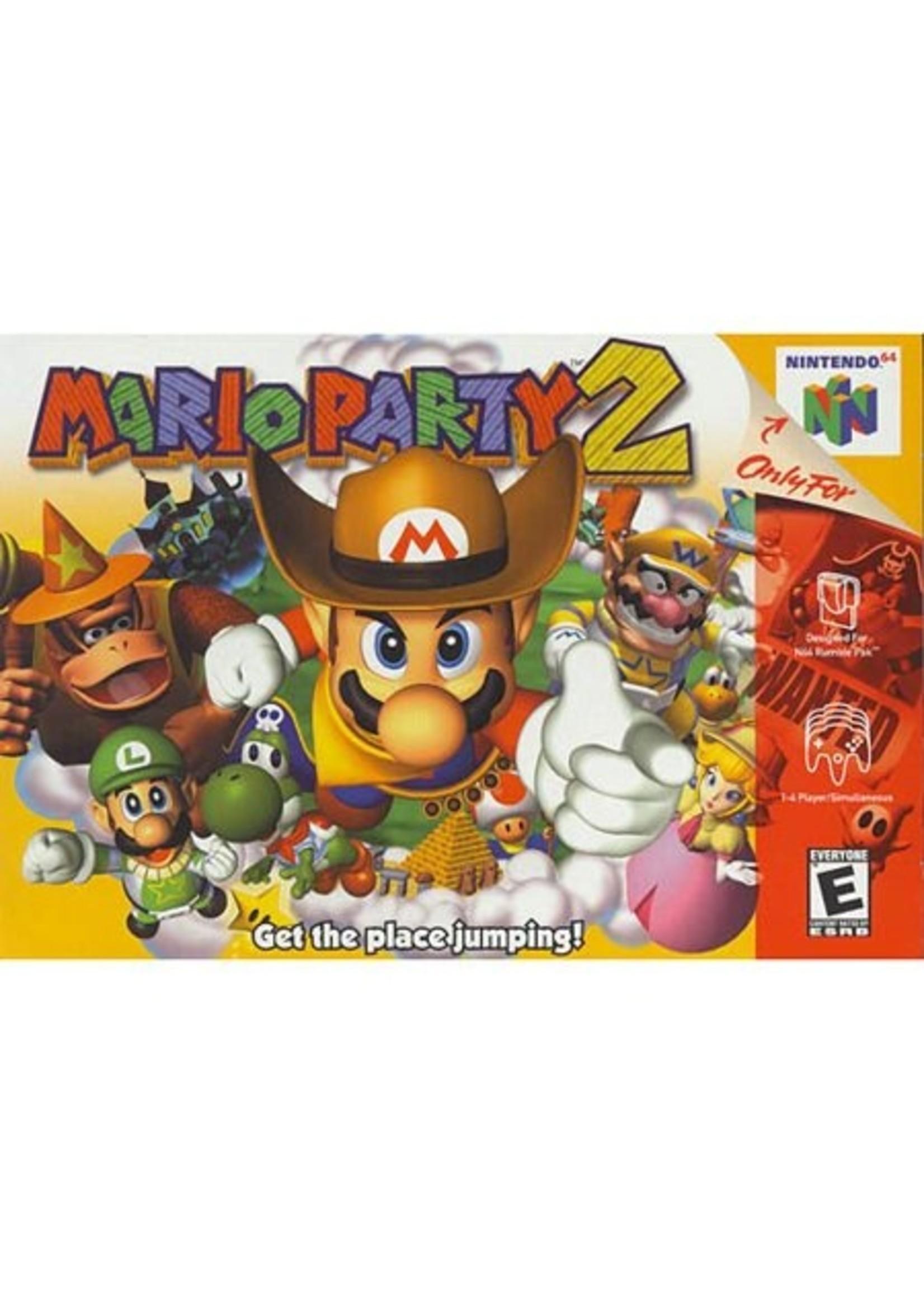 Mario Party 2 - N64 PrePlayed
