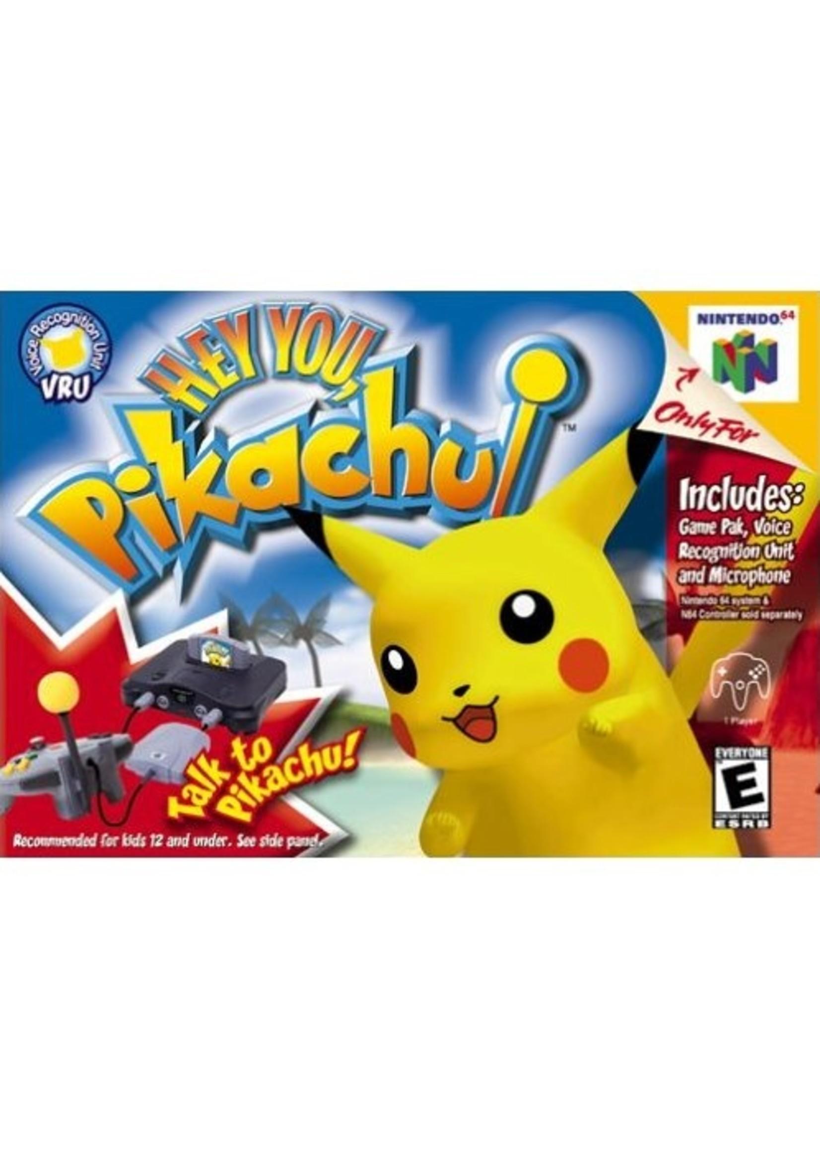 Hey You Pikachu! - N64 PrePlayed