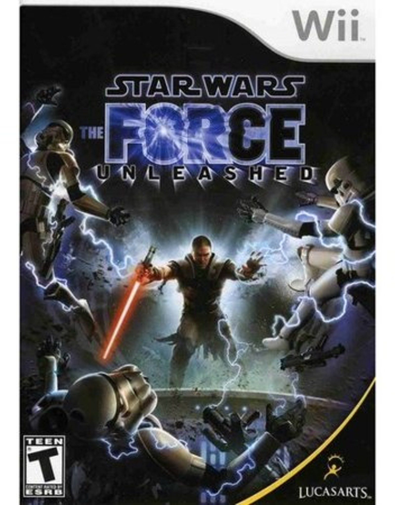 Star Wars The Force Unleashed - Wii PrePlayed