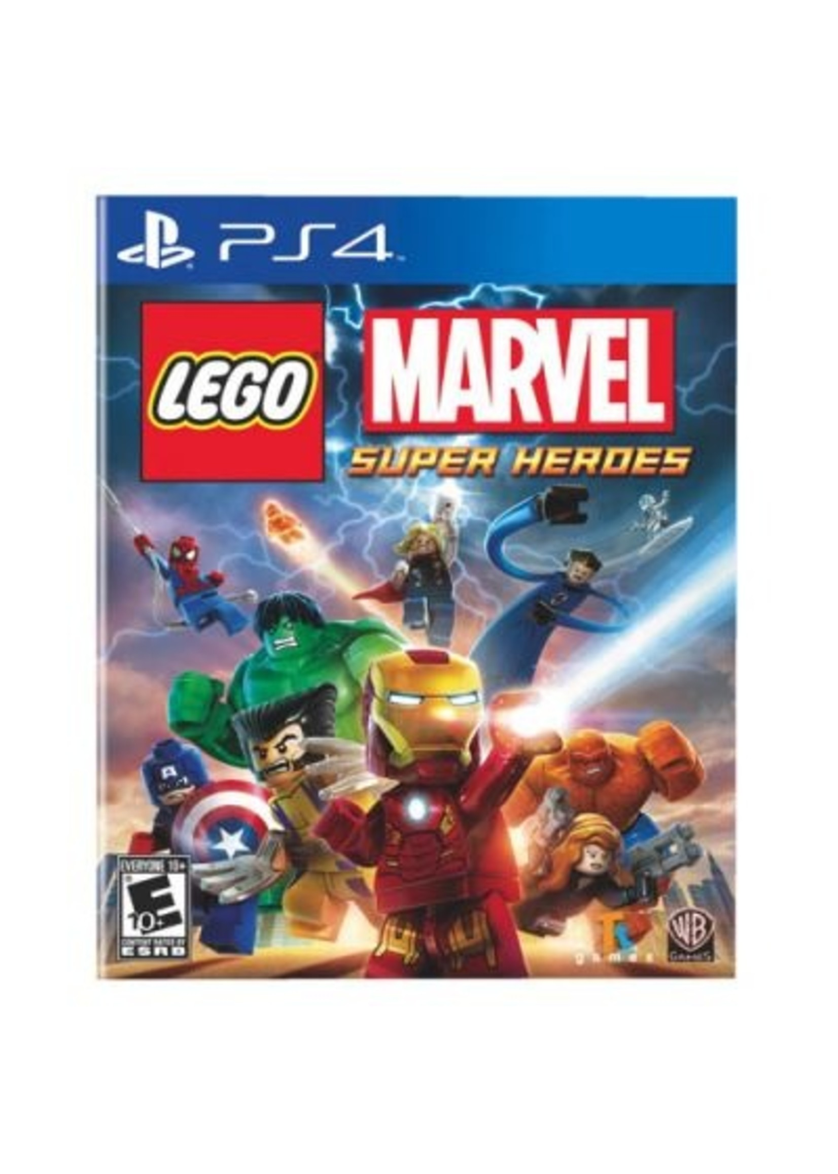 LEGO Marvel Super Heroes - PS4 PrePlayed