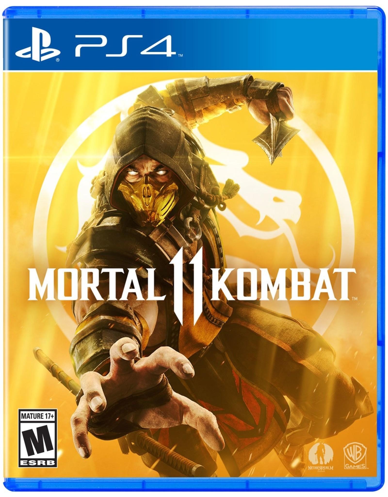 Mortal Kombat 11 - PS4 PrePlayed