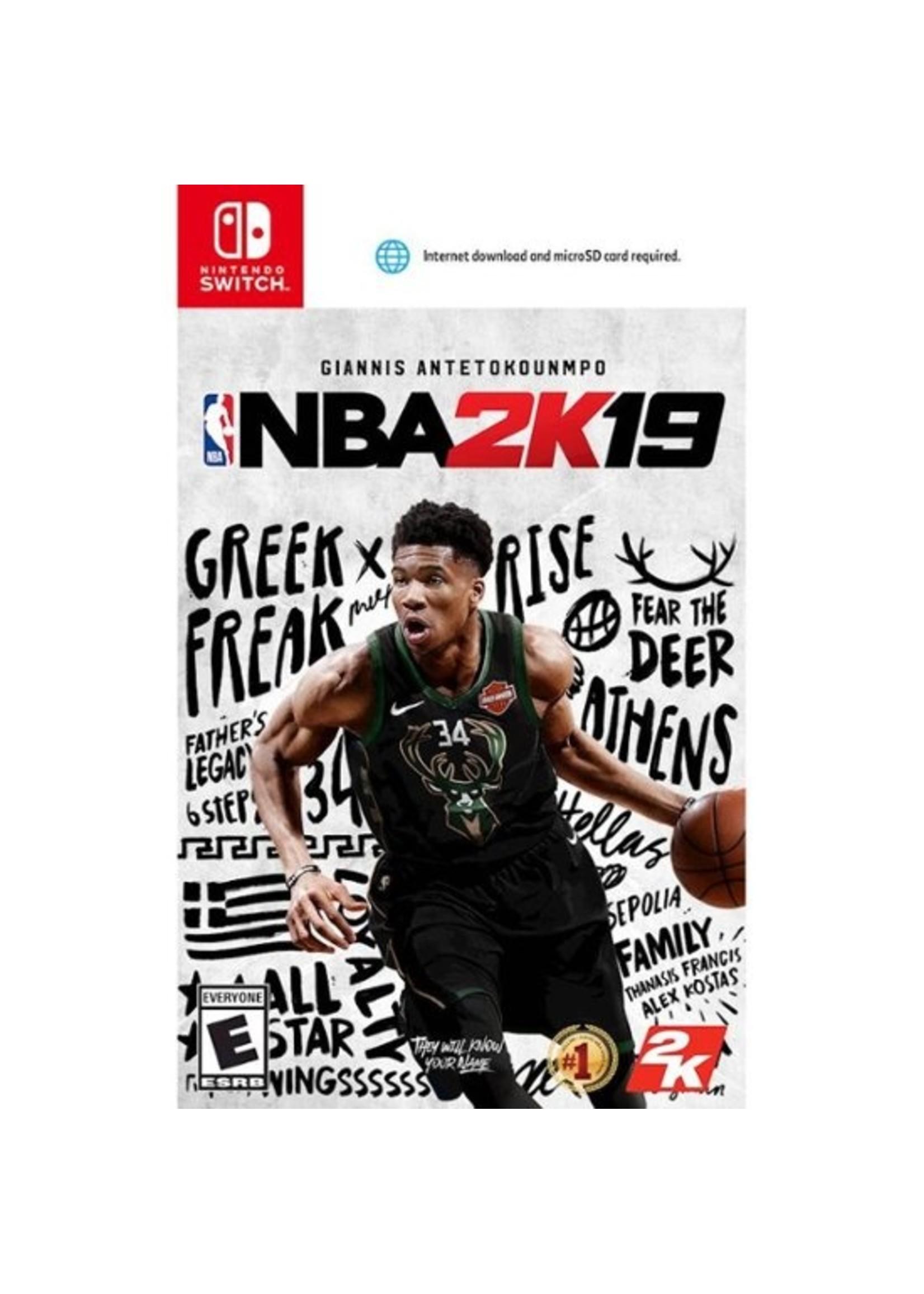 NBA 2K19 - SWITCH PrePlayed