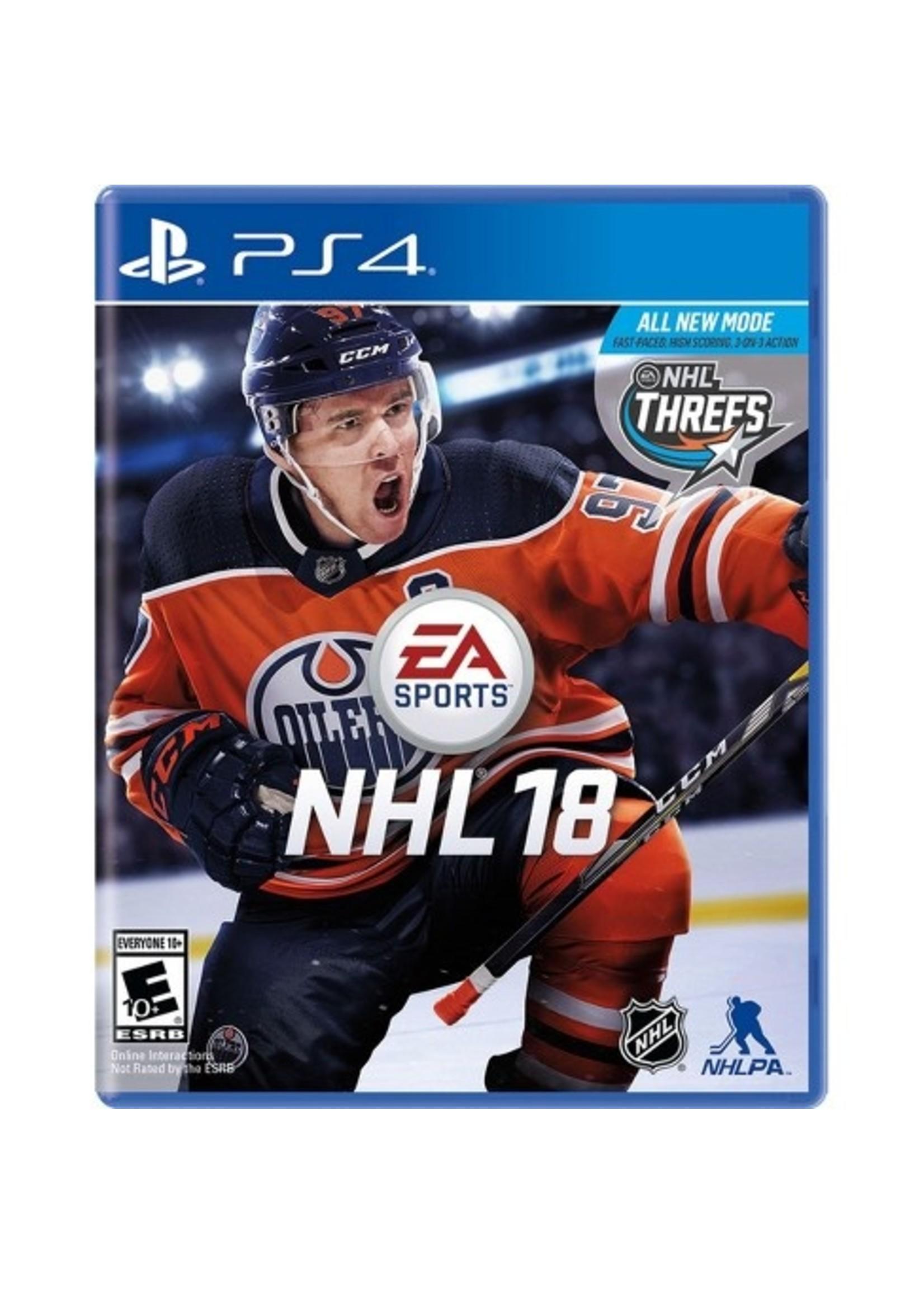 NHL 18 - PS4 PrePlayed