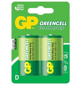 GP GP Greencell D 2 Pk Battery