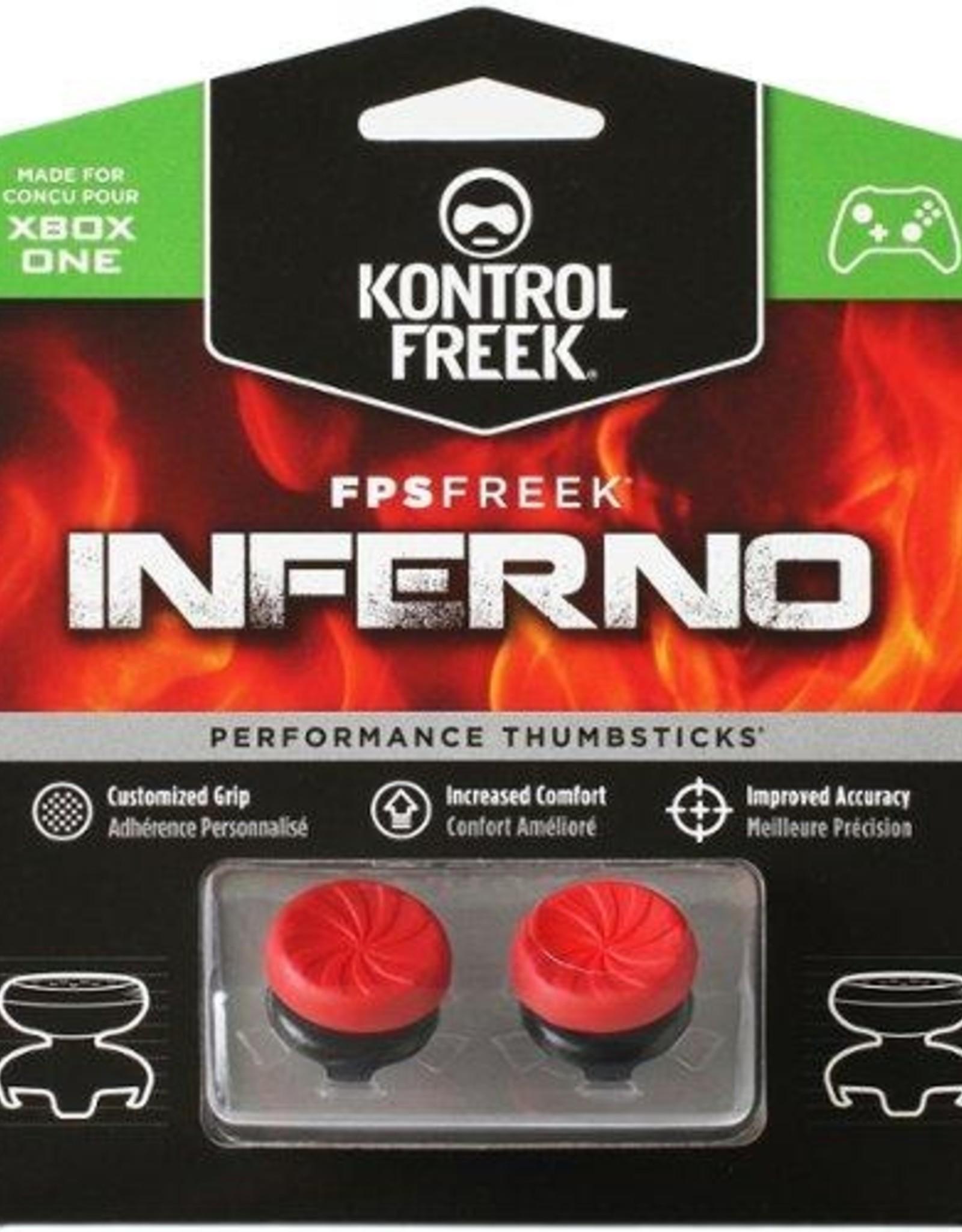 KontrolFreek XBOX ONE FPS Inferno High Rise Thumb Grip Analog Cover