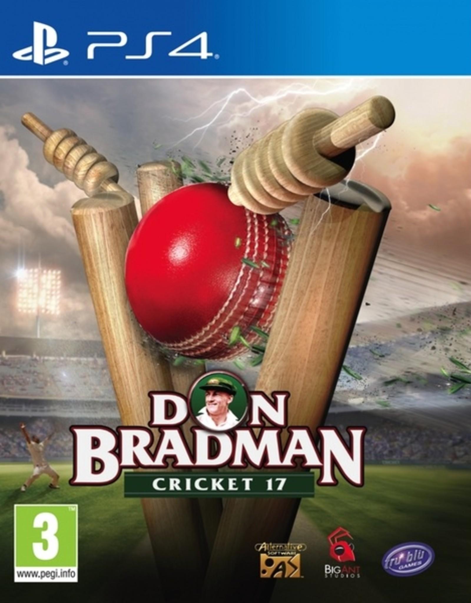 Don Bradman Cricket 17 - PS4 NEW