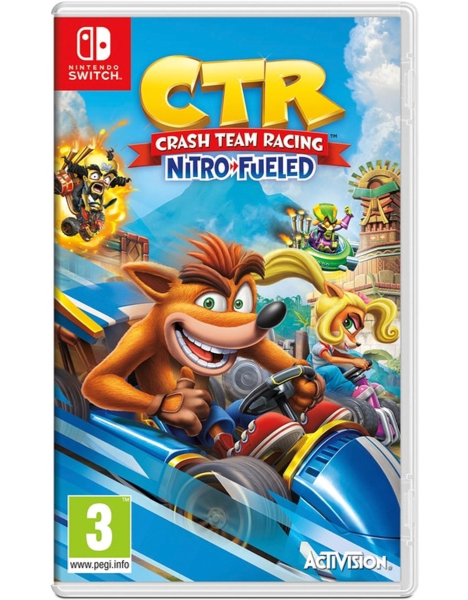 Crash Team Racing Nitro Fueled - SWITCH NEW