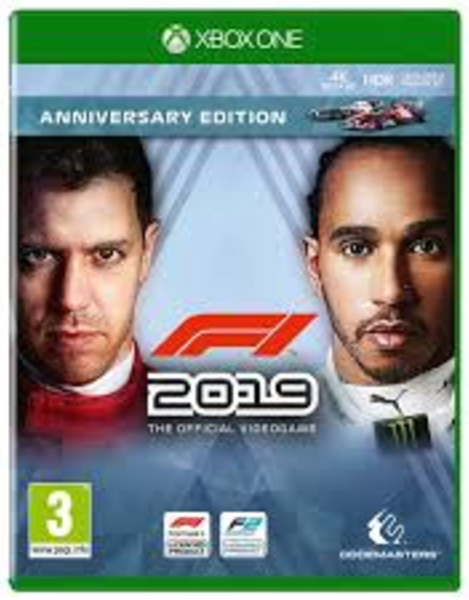 F1 2019 Anniversary Edition - XBOne NEW