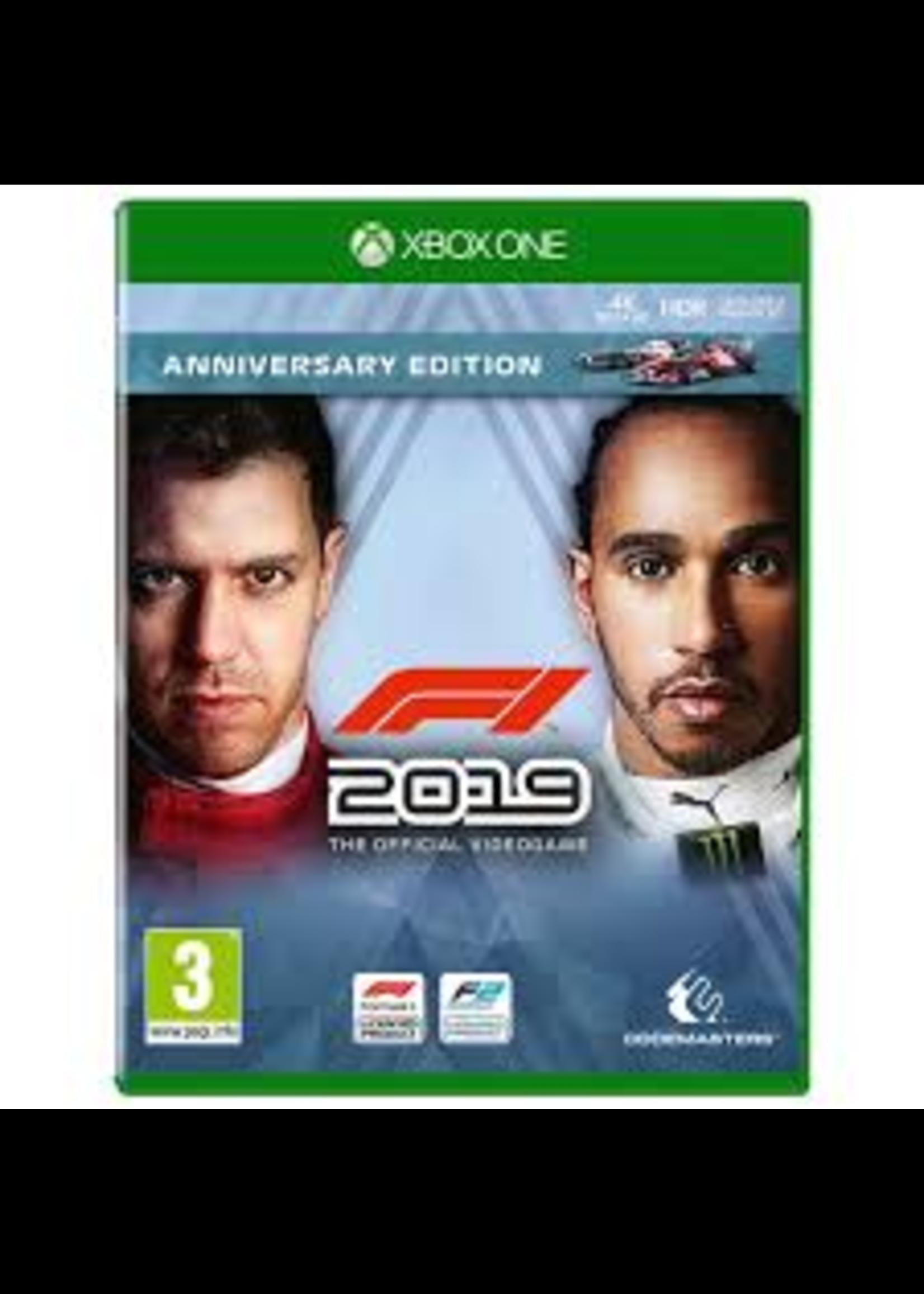 F1 2019 Anniversary Edition - XBOne NEW