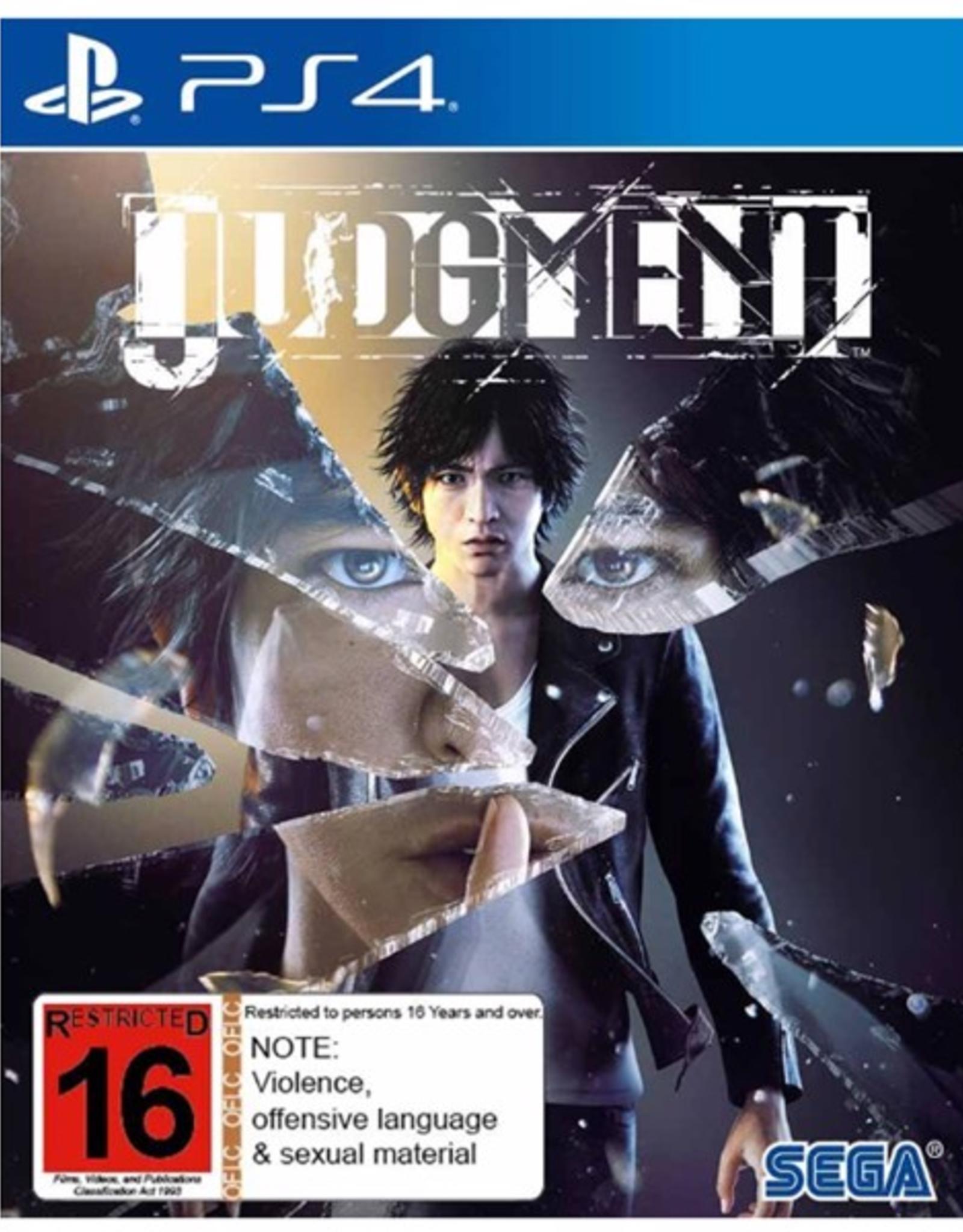 Judgement - PS4 NEW