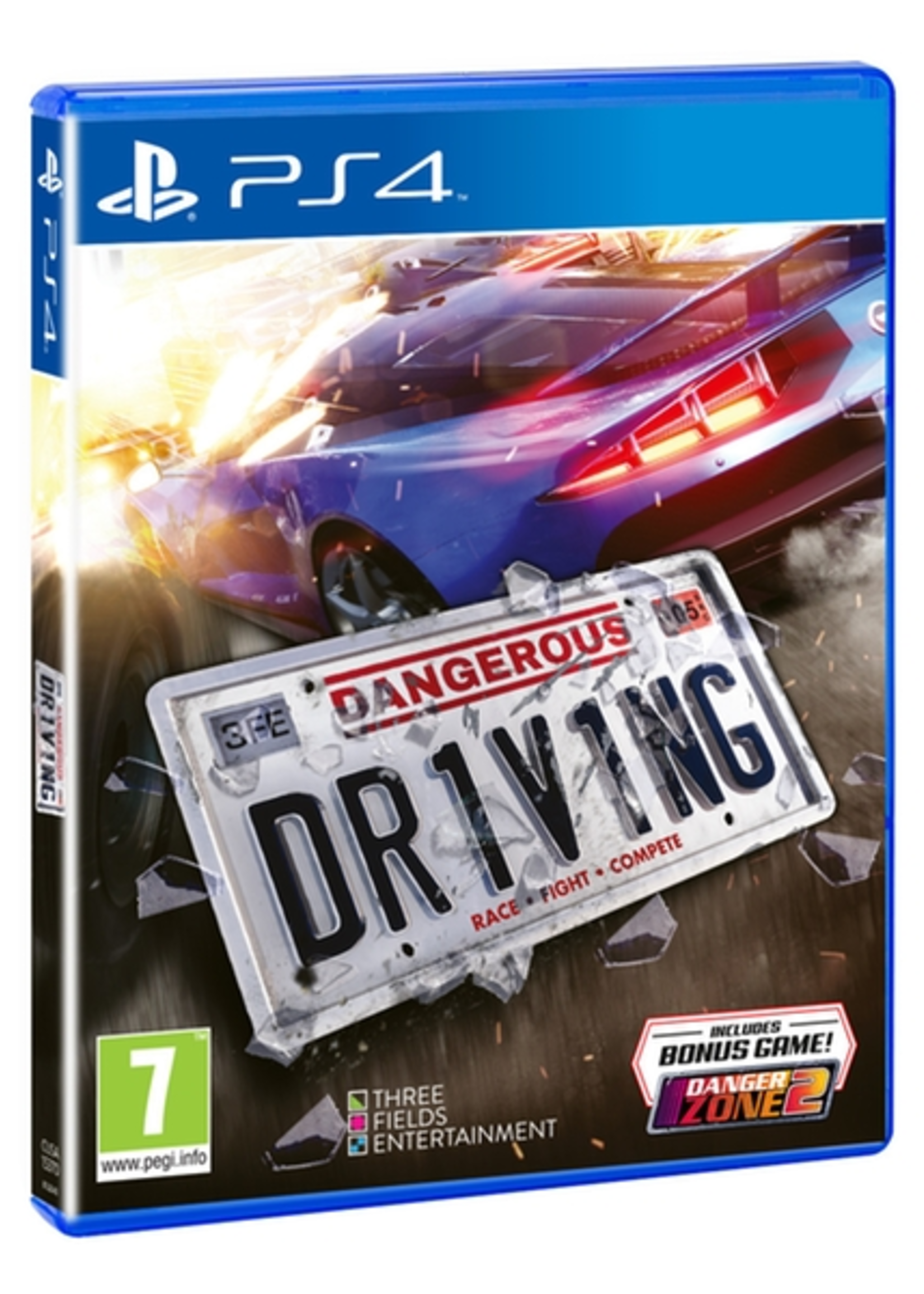 Dangerous Driving - PS4 NEW