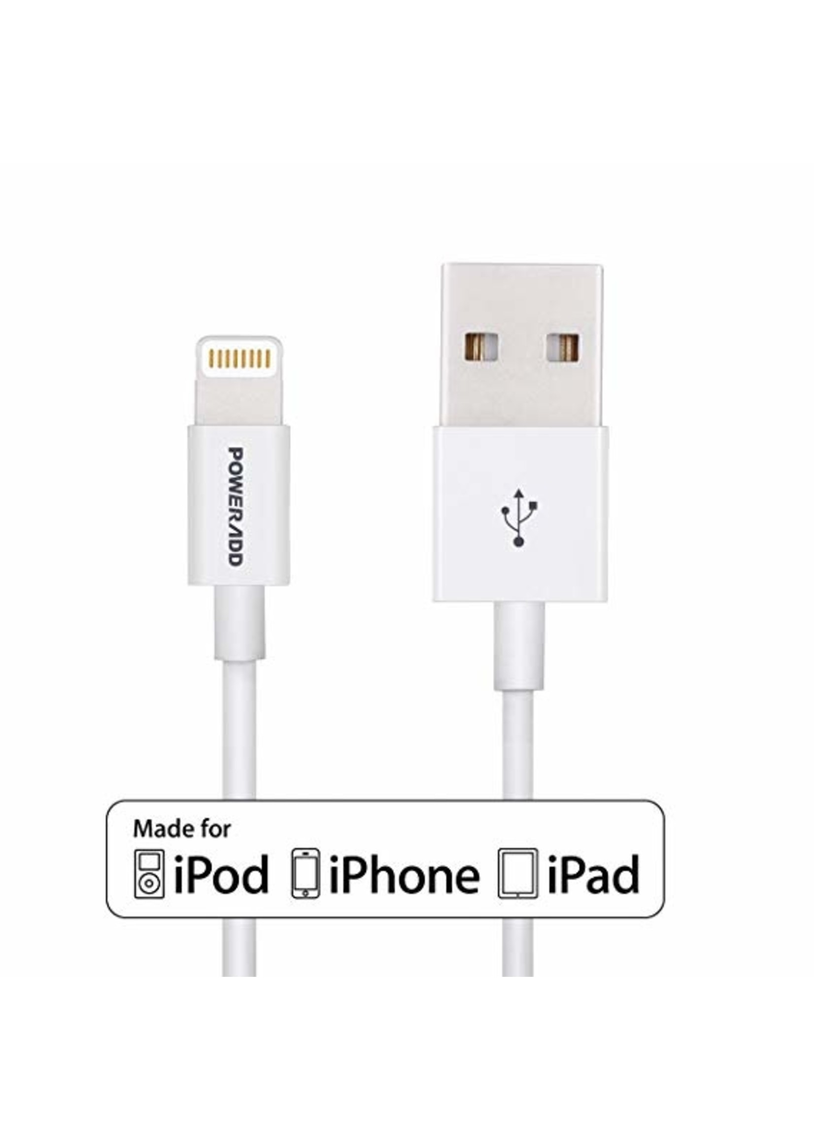 Apple USB  8 pin MFI 5'' Cable