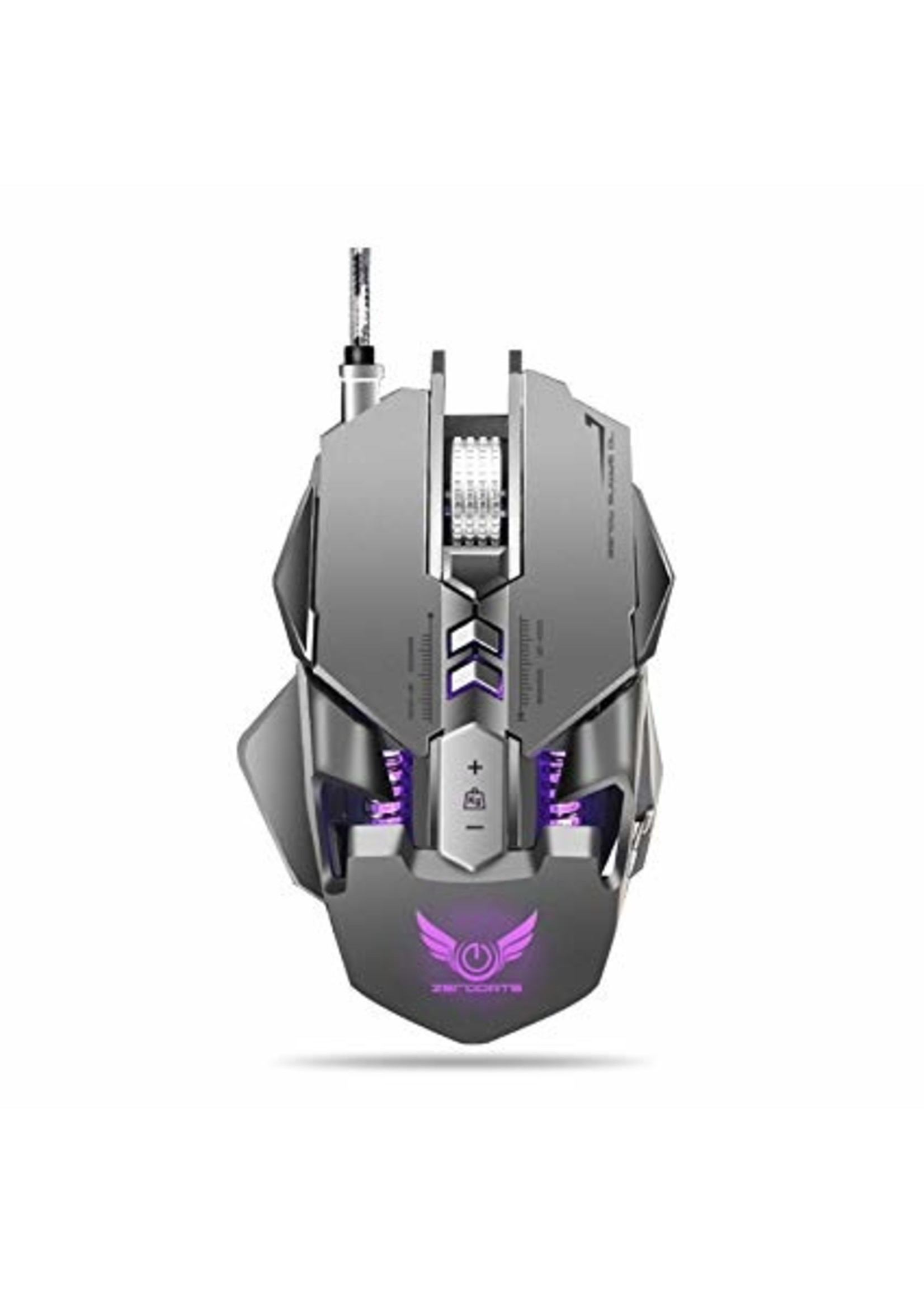 Gaming Mouse 7 Button 7200 dpi RGB Light USB Wired